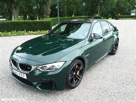 racing green racing green bmw m3 f80