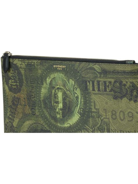 Givenchy Pouch givenchy pouch green multicolored modesens