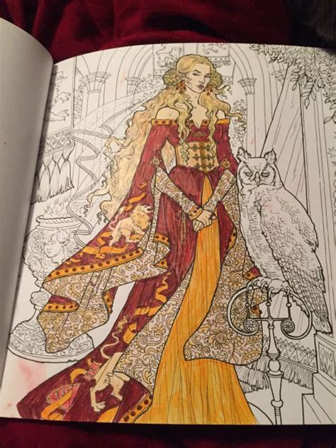 thrones colouring book coloured in 165 best coloring z of thrones images on
