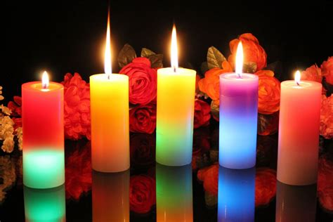 The Candle candles and flickers of light enlightened conflict