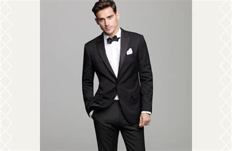 black tie groom mens formalwear weddings onewed