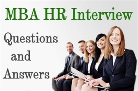 Question For Mba Interviewer by Mba Hr Questions And Answers For Freshers Hr