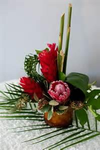 tropical flower arrangements centerpieces 1000 images about tropical centerpieces on