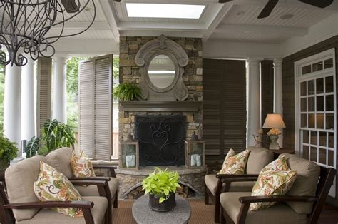 covered porch with fireplace covered porch fireplace ceiling exterior