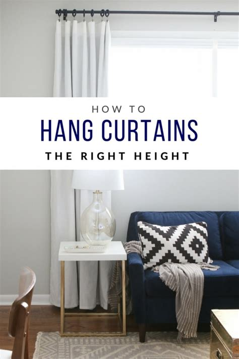Hanging Curtains High Decor 5 Frugal Fix Ups For Fall Home Decorating The Budget Decorator