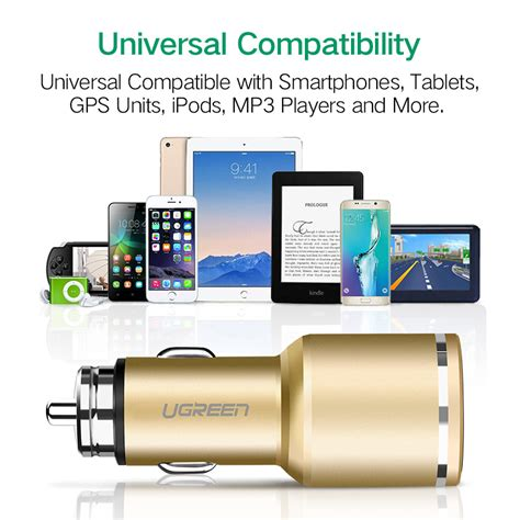 Charger Xiaomi Vooc Fast Charging 2ere 2port Usb Ori ugreen usb car charger 2 port charge 3 0 car charger 4 8a dual fast car charger for