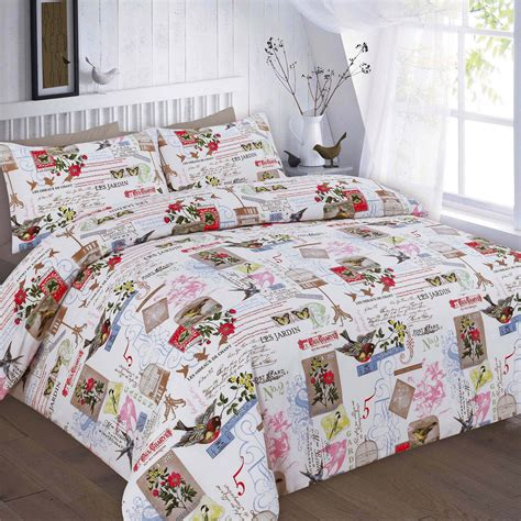 Printed Quilt Covers by Printed Duvet Quilt Cover Polyester Cotton Butterfly