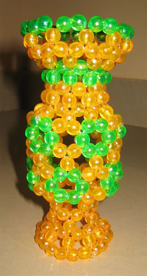 Bead Vase by Beaded Flower Vase