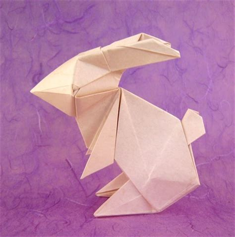 Origami Bunny Rabbit - genuine origami by jun maekawa book review gilad s