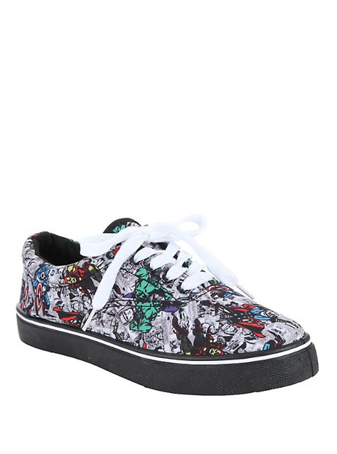 marvel shoes marvel lace up sneakers topic