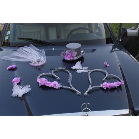 theme mariage rose et argent d 233 coration voiture de la mari 233 es pour mariage th 232 me