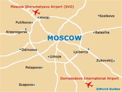 russia map airports airports in moscow