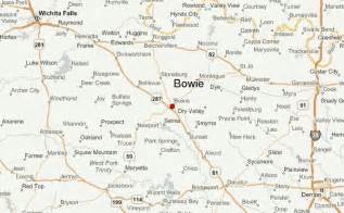 map of montague county bowie location guide