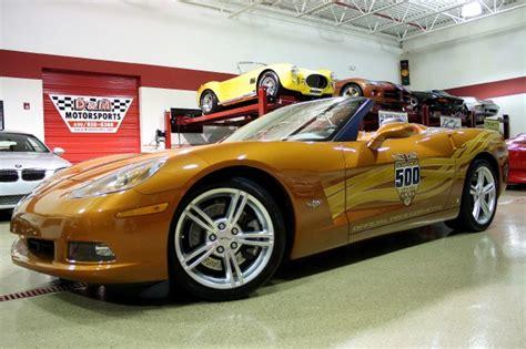 2007 chevrolet corvette indy pace car edition stock m4180 for sale near glen ellyn il il