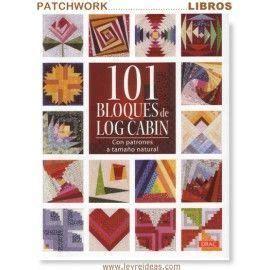 libro 101 bloques de log cabin leyreideas com