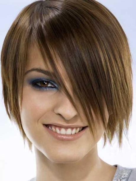 very long hair with very short bangs short haircuts with long bangs