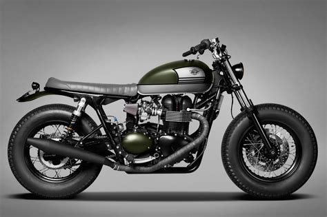 Custom Custom triumph bonneville custom by ton up garage