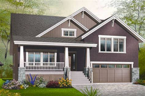 front to back split level house plans craftsman style house plan 4 beds 2 5 baths 2309 sq ft