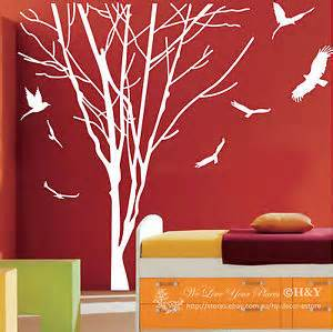 Bedroom Wall Stickers Tree » Home Design 2017