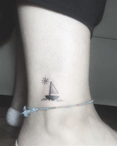 sailboat tattoo meaning minimal sailboat projects to try