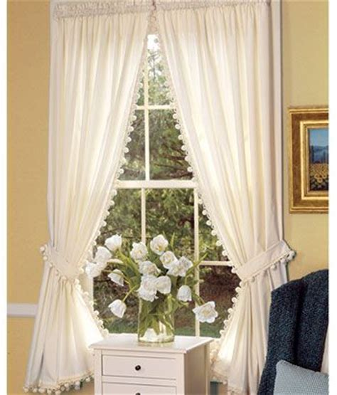 ball fringe curtains pinterest the world s catalog of ideas