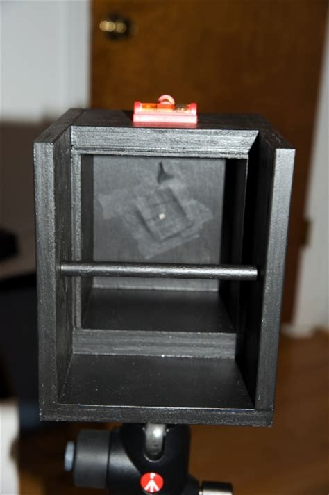Handmade Pinhole - diy 8x10 pinhole photrio