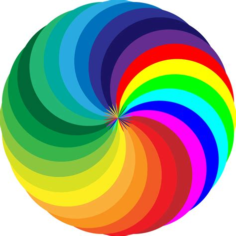 for colored clipart colored mandala