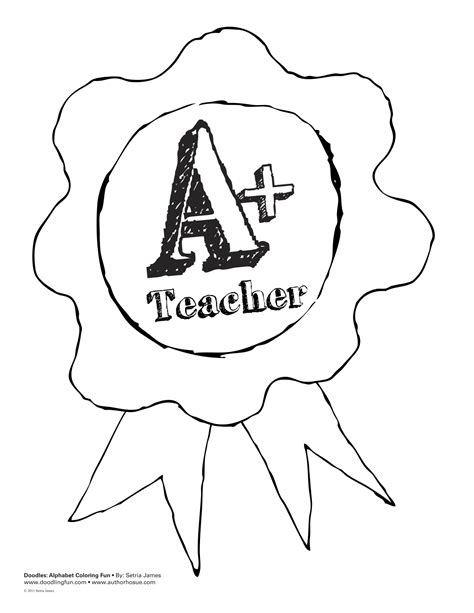 Free Coloring Pages Of Thank You Teacher Appreciation Coloring Pages