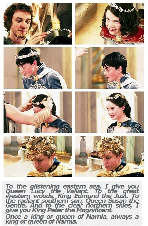 fakta film narnia one of my favorite lines in the entire series is quot once a