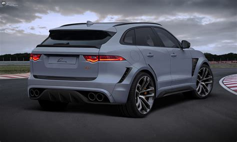 jaguar f pace black lumma s jaguar f pace clr is an impressive tuning exercise