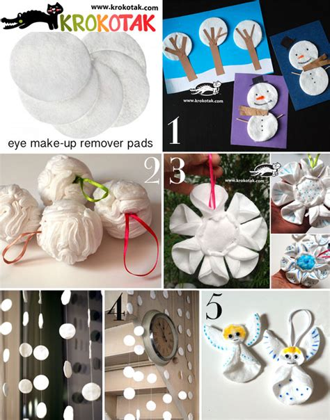 winter decorations to make krokotak 5 great ideas for winter decorations from eye