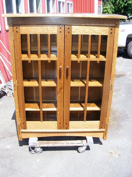 craftsman bookcase craftsman bookcase by schroeder lumberjocks