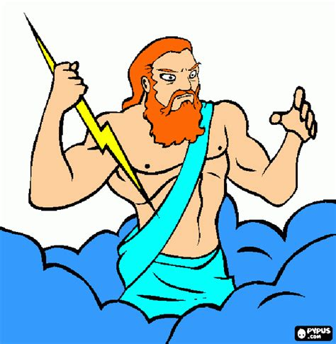 imagenes de dios zeus dibujo zeus para colorear dibujo zeus para imprimir