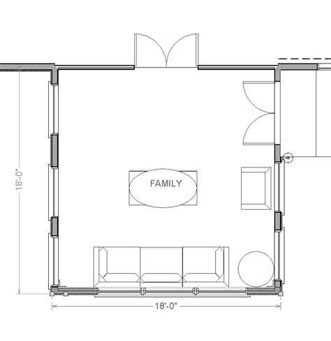 family room addition floor plans family room ideas 18 by 18 addition