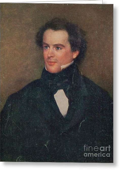 nathaniel hawthorne american writer biography nathaniel hawthorne greeting cards for sale