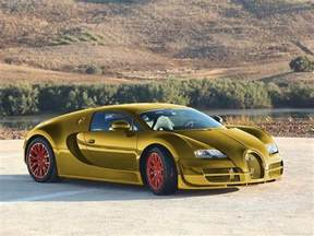 Gold Bugatti Veyron Price 24 Karat Gold Bugatti Veyron Sport Luxury Car