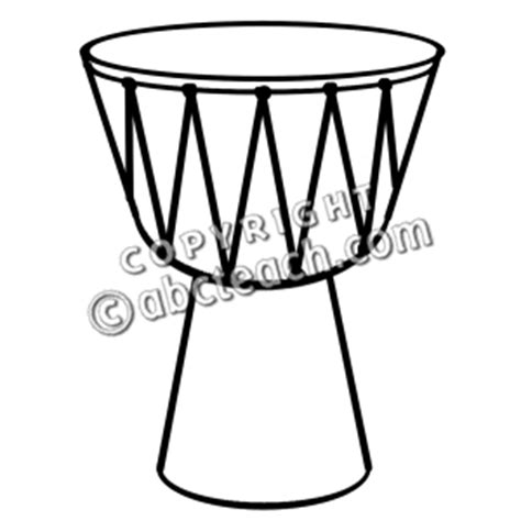 african instruments coloring page free coloring pages