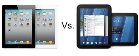 Hp Tablet Apple apple 2 vs hp touchpad tablet on the line