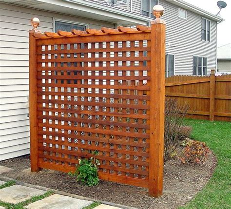 backyard trellis ideas backyard privacy trellis patio and yard