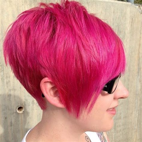 Cut Pink 22 best colorful ways to enhance your pixie haircut 2017