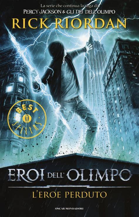 film fantasy animazione libro l eroe perduto eroi dell olimpo vol 1 di
