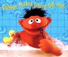 Ernie In The Bathtub by 1000 Images About Delightful Duckies On