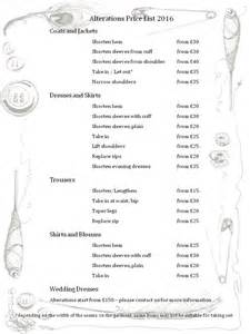 wedding dress alterations prices price list for wedding dress alterations wedding gown