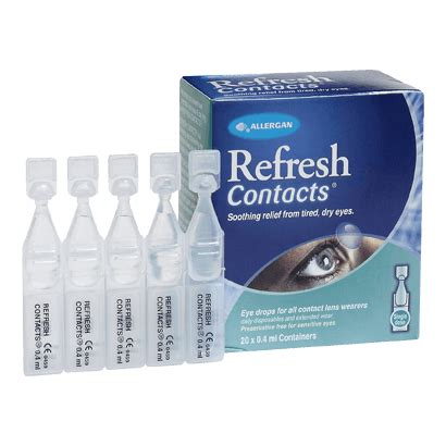 Refresh Contacts refresh contacts vials eye care vision direct uk