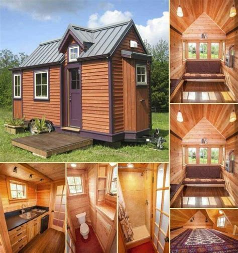 tiny homes on foundations tiny house can be affixed to as trailer or secured to a
