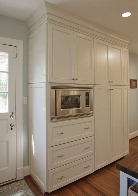 Built In Wall Cabinets Kitchen - built in kitchen pantry cabinet with pantry microwave