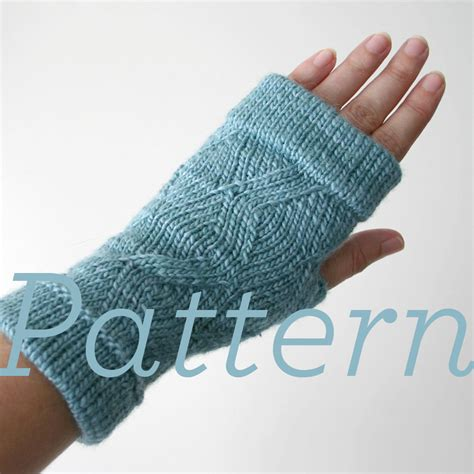 knitting pattern gloves fingerless knit fingerless gloves pattern cuffed zigzag fingerless