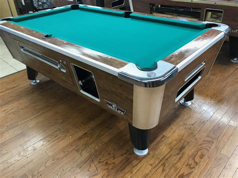 table 060717 valley used coin operated pool table used