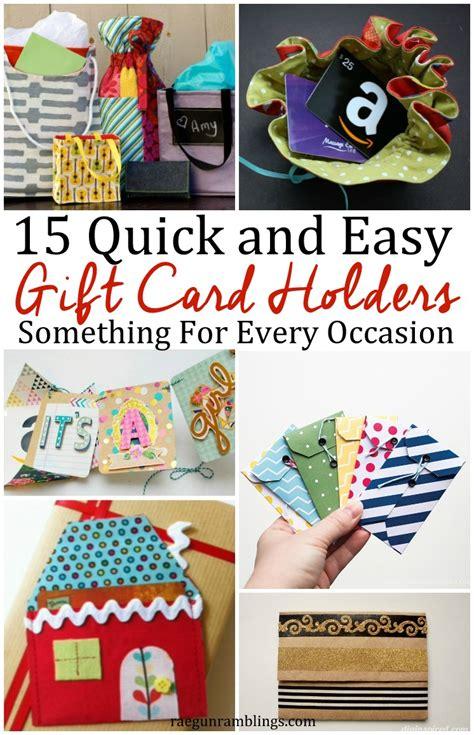 Diy Gift Card Holder - 15 diy gift card holders rae gun ramblings
