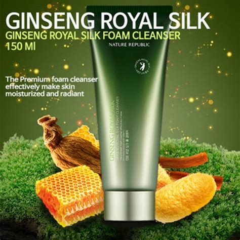 Harga Nature Republic Ginseng Royal Silk Foam Cleanser nature republic ginseng royal silk foam cleanser 150ml